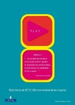 Cartel 8 de Marzo del Instituto Asturiano de la Mujer